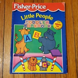 VINTAGE 97 Fisher Price Little People Toddler Book